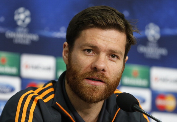 Xabi Alonso No Beard Goodbye to Kean...